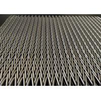 Buy cheap Custom Stainless Steel Conveyor Wire Mesh Belt For Conveying And Drying Food from wholesalers