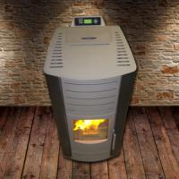 European Pellet Stove Modern / Biomass Wood Pellet Boiler For Indoor