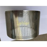 Buy cheap Horizontal Basket Mill / Bead Mill Screen Laser Cutting Stainless Steel Material from wholesalers