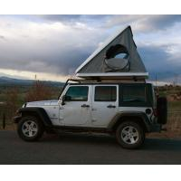 Buy cheap Luxurious Triangle Roof Top Tent Hard Shell One Side Open Rain Resistant product