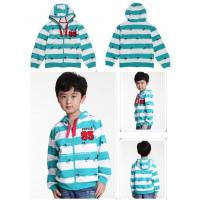 Buy cheap Blue And White Stripes Sweatshirt Top Boutique Babies / Girls Clothing from wholesalers