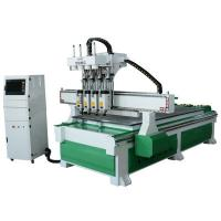 Buy cheap Solid And Rigidity Woodworking CNC Router Machine With DSP Controlling System from wholesalers