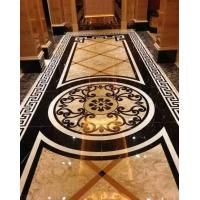 Buy cheap Marble Stone Polished of the Waterjet Patterns Flooring Tiles from wholesalers