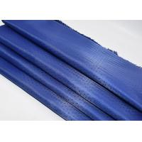 Buy cheap Blue Fashion Dobby Woven Fabric , Dobby Twill Fabric Plain Style from wholesalers