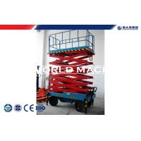 Buy cheap Mobile Hydraulic Lift Table electric elevated platform Ground and aerial control from wholesalers