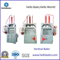 Buy cheap Hello Baler Waste Paper ,cardboard Baling Machine, Vertical Baler from wholesalers