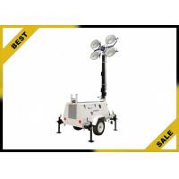 Buy cheap Diesel Powered Mobile Light Tower Length 4360mm 320° Mast Rotation  Powder Coated Canopy from wholesalers