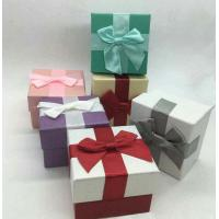 Pretty Paper Watch Necklace Jewelry Box , Heavy Cardboard Jewellery Packaging Boxes