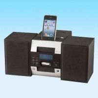 Buy cheap Docking CD/Radio/Music Combo, Suitable for iPod/iPhone product