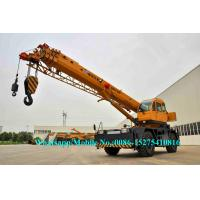 Buy cheap All Wheel Drive 4x4 XCMG Sany Zoomlion 25 Ton RT25 Mobile rough terrain crane telescopic Boom High Cost Effective from wholesalers