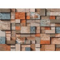 Buy cheap 3 Dimensional Removable Brick Wallpaper Washable For Lounge Room , Anti - Static from wholesalers