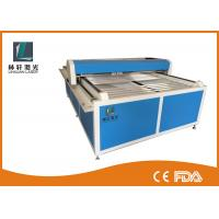 Buy cheap Flat Bed Glass Tube CO2 Laser Engraving Cutting Machine For Wooden Arts / Crafts from wholesalers