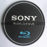 Buy cheap pvc custom logo sony coaster cup pad from wholesalers