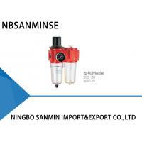 Air Filter Lubricator Regulator 399 - 08 / 15 / 20 / 25 HERIO Series Instrument