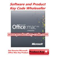 Buy cheap Hot selling Microsoft Office Product Key Codes , Office for MAC 2011 Standard FPP ESD Key product