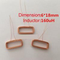 Buy cheap 6*18mm 160uH copper RFID Readers coil in stock,Hollow coil,self-adhesive coil,induction coil from wholesalers