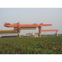 Buy cheap Box Girder Bridge Construction Equipment , Launching Truss Bridge Construction Crane from wholesalers