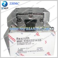Buy cheap Germany Rexroth R165321420 Linear Motion Ball Rail System Runner Block from wholesalers