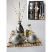 Buy cheap silver christmas reed diffuser gift set from wholesalers