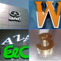 Buy cheap Super Effectiveness Customized Aluminum Led Lighted Sign Letter from wholesalers