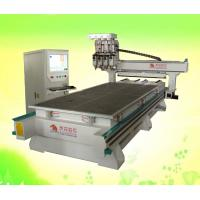 Buy cheap four head 1325 cnc wood router machine for engraving kinds of wood panel from wholesalers