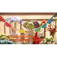 Buy cheap WEDDING BANNER, PARTY, BIRTHDAY, DECORATION, PERSONALIZED, BURLAP, BUNTING, LACE, TRIANGLE, FLAGS, BANNERS from wholesalers