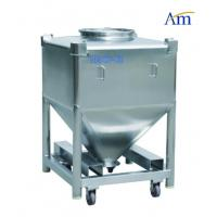 Buy cheap Durable Pharmaceutical Accessories Square Shape Steel IBC Tank Large Volume from wholesalers
