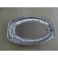 Buy cheap Oval Disposable aluminum foil serving trays frozen Turkey aluminum foil roasting pan from wholesalers