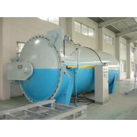 Buy cheap Composite Automatic Glass Industrial Autoclave Pressure Vessel , High Efficiency product