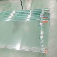 Buy cheap Low iron Tempered glass with polished edge from wholesalers