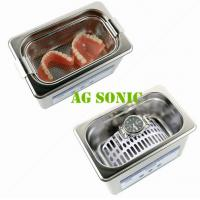 Buy cheap 800ml Dental Sonic Bath Cleaner With SUS Basket , Ultrasonic Teeth Cleaning Machine product