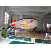 Buy cheap Total Digital Printed Advertising Helium Zeppelin Balloons with Lighting for Opening event from wholesalers