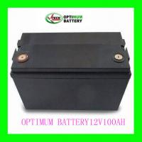 Buy cheap Optimum Low-Discharge Lifepo4 Battery Pack For Forklift 12 Volt 100ah from wholesalers