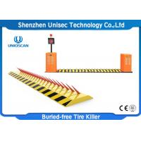 Buy cheap Electronic Hydraulic Tyre Spike Barrier / Automatic Spike Barrier IP67 from wholesalers