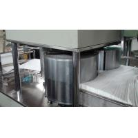 Buy cheap SS Wide Auto Non - Woven Fabric Folding Machine Environment Friendly from wholesalers