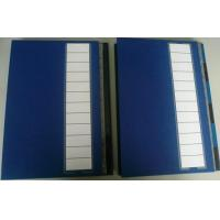 Buy cheap A4 Colours Index File Folders With Elastic Band from wholesalers