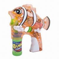 Buy cheap Clown Fish Toy Bubble Gun with 1 Bottle and Music EN71 GW355265 from wholesalers