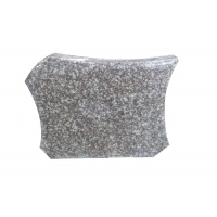 Buy cheap High Polished 150cm G664 Red Granite Tombstone product