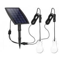 Buy cheap 70LM *2 Solar Powered Yard Lights Low Voltage With 3.7v /2200mah Lithium Battery product