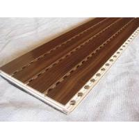 Buy cheap Wooden Grooved Acoustic panel from wholesalers