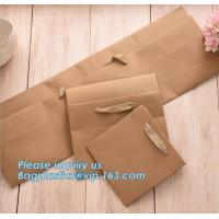 Buy cheap OEM Ribbon Satin Handle Carrier Bag With Custom Logo Printed Paper Bag For Flowers,Custom Flower Vase Planpot Black Pape from wholesalers