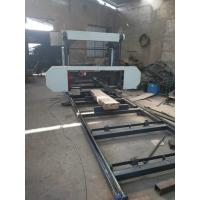 Buy cheap Horizontal bandsaw MJ1000/MJ1300 wood cutting used portable sawmill for sales from wholesalers