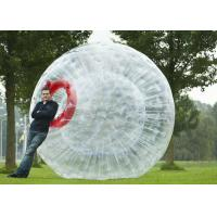 Buy cheap Inflatable Zorb Ball 2.5m Diameter Blow Up Pool Floats , Large Inflatable Water Toys from wholesalers