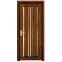 Buy cheap Black walnut wood painted wood door for interior from wholesalers