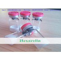 Buy cheap Human Growth Hormone Hexarelin Freeze-dried Powder 2mg/vial Bodybuilding Injectable Peptides from wholesalers