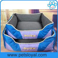 Buy cheap small pet bedding Oxford And Polyester Pet Beds China Factory from wholesalers