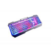 Buy cheap Membrane Ergonomic PC Gaming Keyboard With Backlight 19 Keys Water Resistant from wholesalers