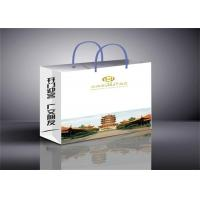 Buy cheap Full Color Printed Paper Gift Bags Matte Lamination , Custom Printed Bags from wholesalers
