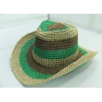 Buy cheap 3-Tone String Cowboy Hat from wholesalers