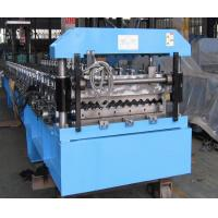 Buy cheap Roofing Barrel Corrugated Sheet Metal Roll Forming Machines PLC Controlled System from wholesalers